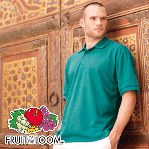 Polo Shirt Mischgewebe - Fruit of the Loom